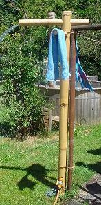 Wie Sie Dusche Im Garten Für Erfrischung Im Sommer Selber ...