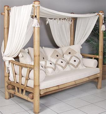 Efterstræbte Bambus Sofa EO-26